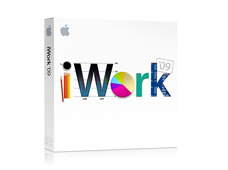 My copy of iWork '09 the minimalist box was missing something prese
