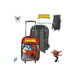 Ghiozdan tip troler copii Spiderman - 32 cm